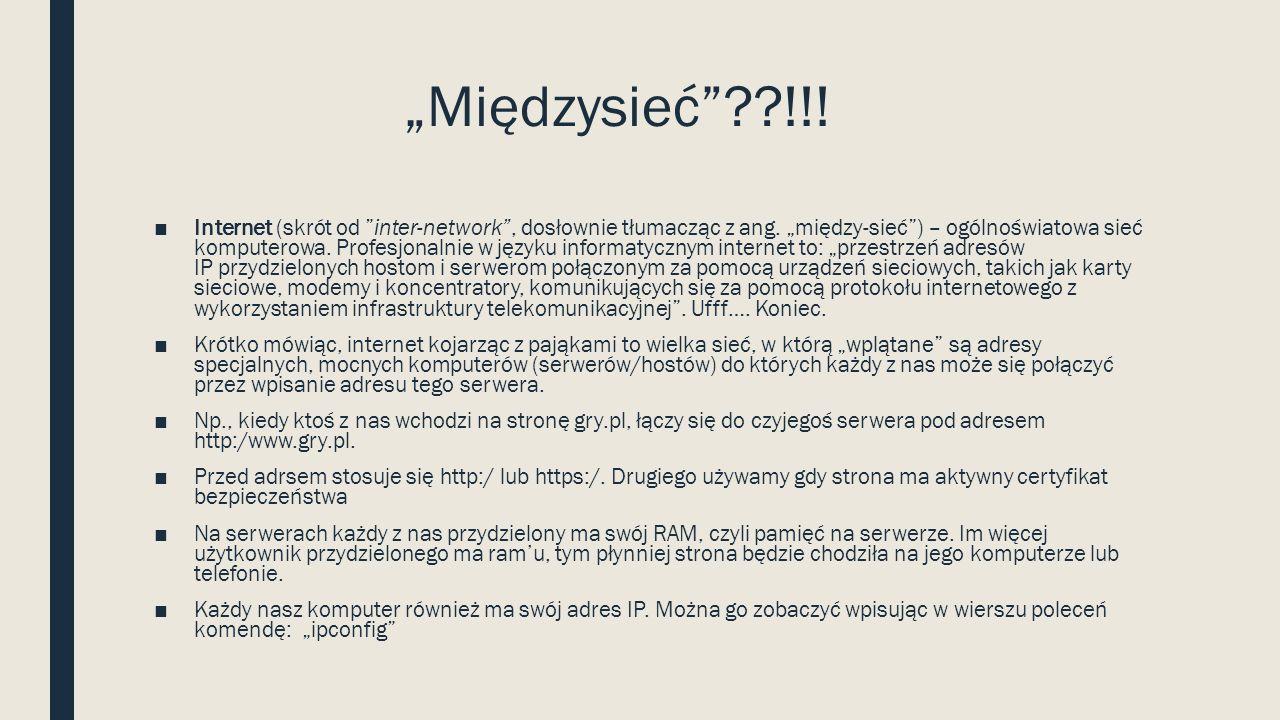 Jakie znamy portale gier? ■Gry.pl ■Friv ■Wyspa gier