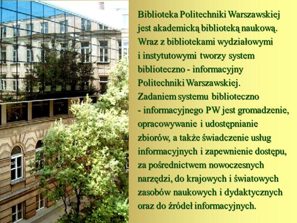 Zakładka Studia została opracowana z myślą o studentach wszystkich rodzajów studiów w Politechnice Warszawskiej.