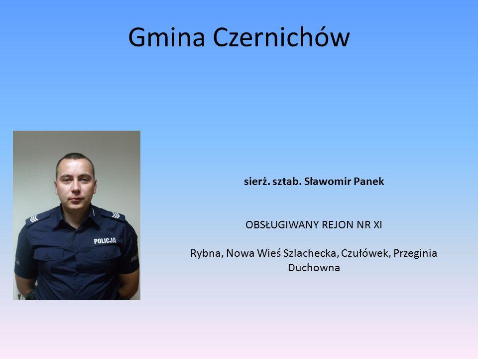 Gmina Czernichów sierż. sztab.