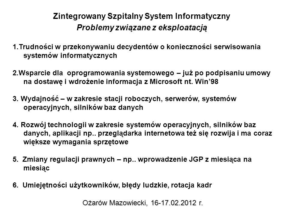 Ożarów Mazowiecki, 16-17.02.2012 r.
