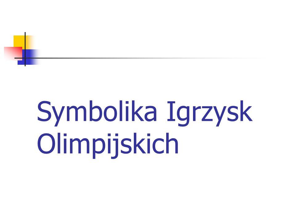 Symbolika Igrzysk Olimpijskich