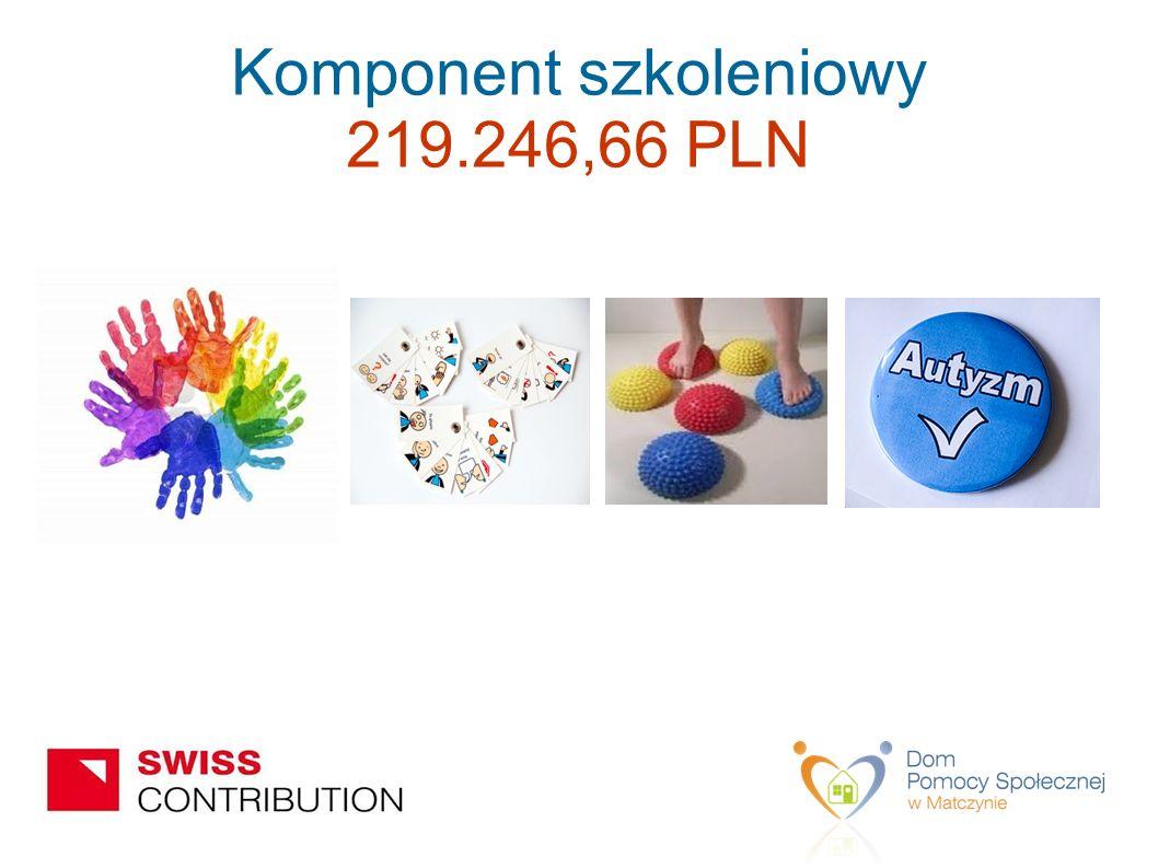 Komponent szkoleniowy 219.246,66 PLN