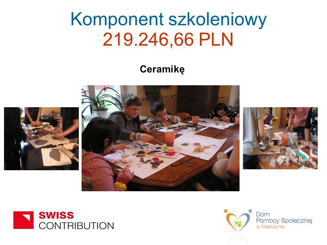 Ceramikę Komponent szkoleniowy 219.246,66 PLN