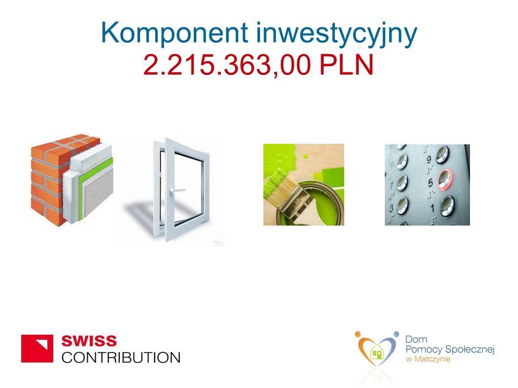 Komponent inwestycyjny 2.215.363,00 PLN
