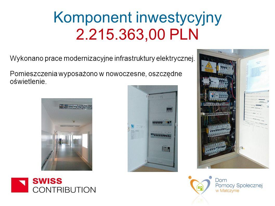 Wykonano prace modernizacyjne infrastruktury elektrycznej.