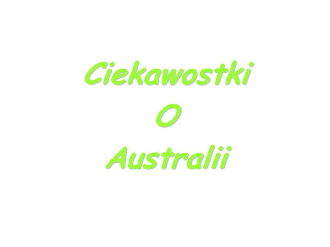 CiekawostkiOAustralii