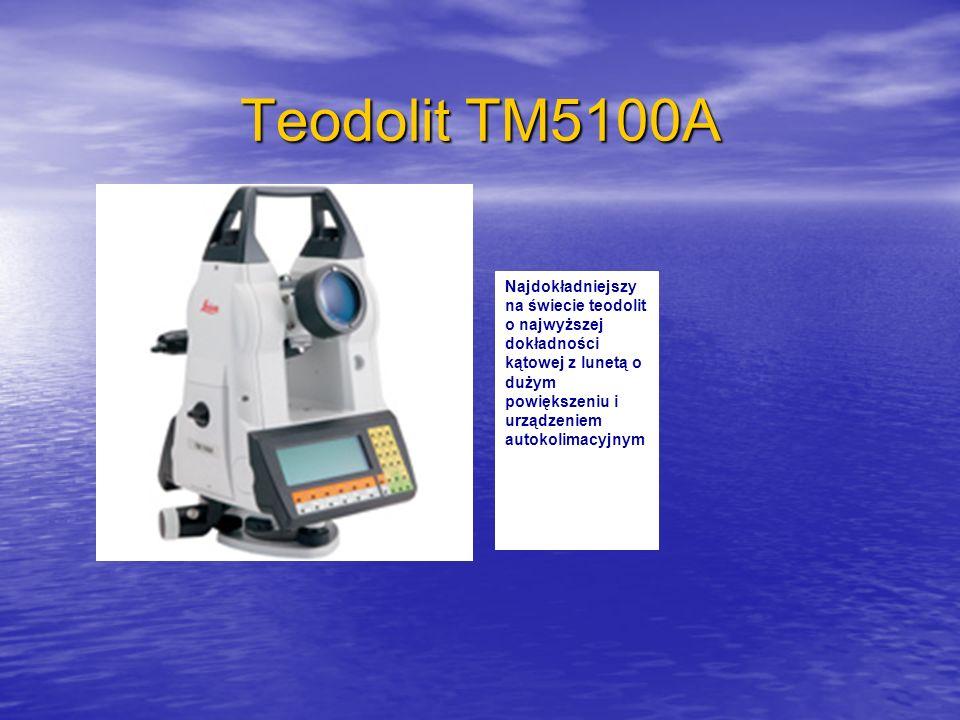 Teodolit TM5100A Najdokładniejszy na świecie teodolit o najwyższej dokładności kątowej z lunetą o dużym powiększeniu i urządzeniem autokolimacyjnym