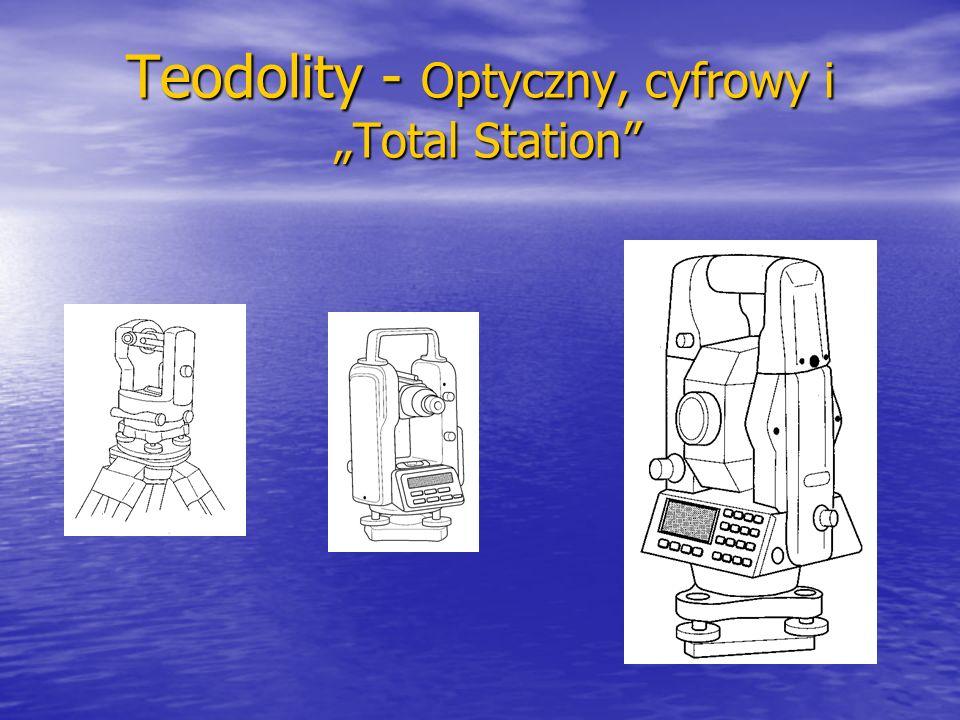 """Teodolity - Optyczny, cyfrowy i """"Total Station"""""""