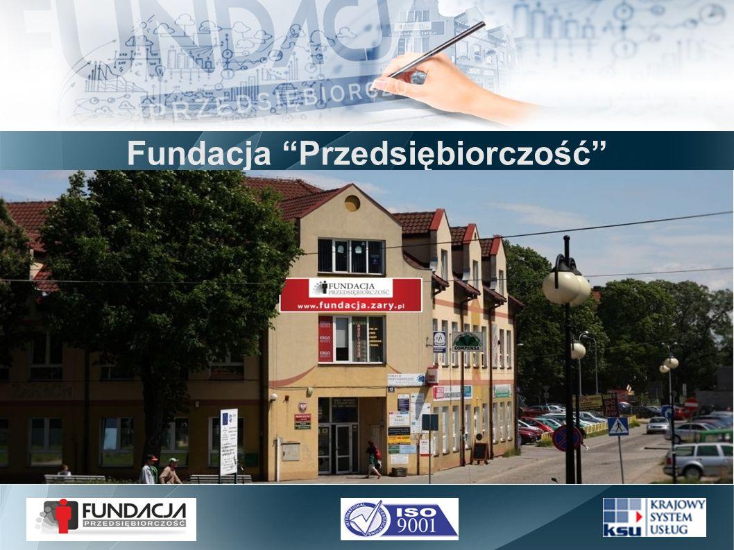 Fundacja Przedsiębiorczość jest organizacją pozarządową, ustanowioną aktem notarialnym z dnia 1992.05.19 przez Zarząd Gminy Miejskiej w Żarach.
