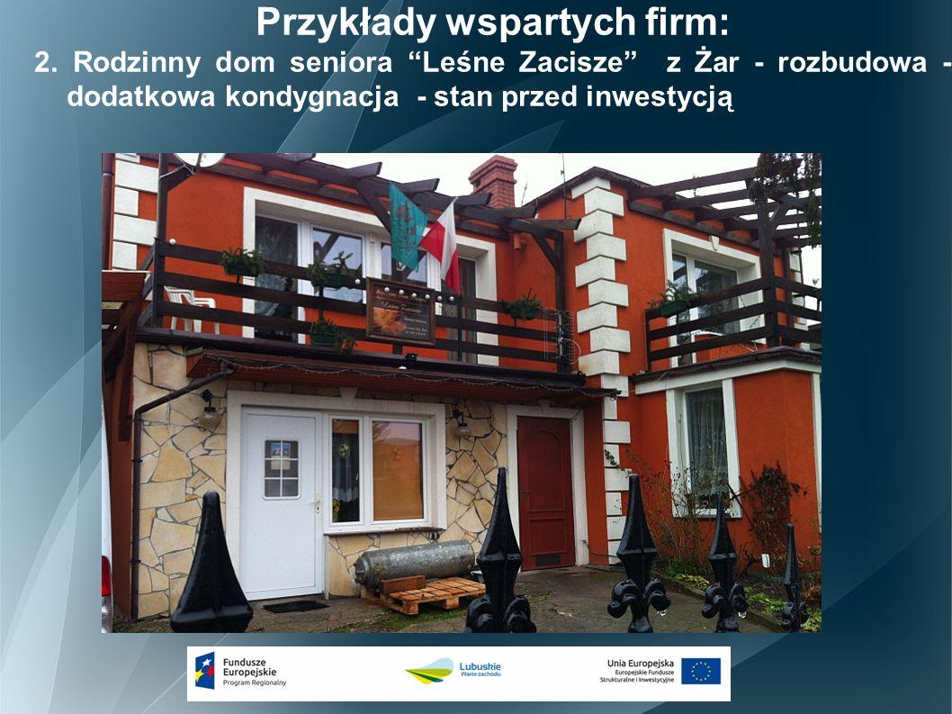 Przykłady wspartych firm: 2.