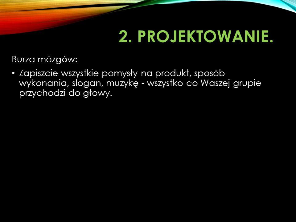 MUZYKA W REKLAMIE projekt artystyczny 1.