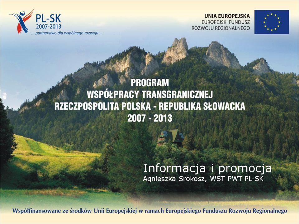 Informacja i promocja Agnieszka Srokosz, WST PWT PL-SK