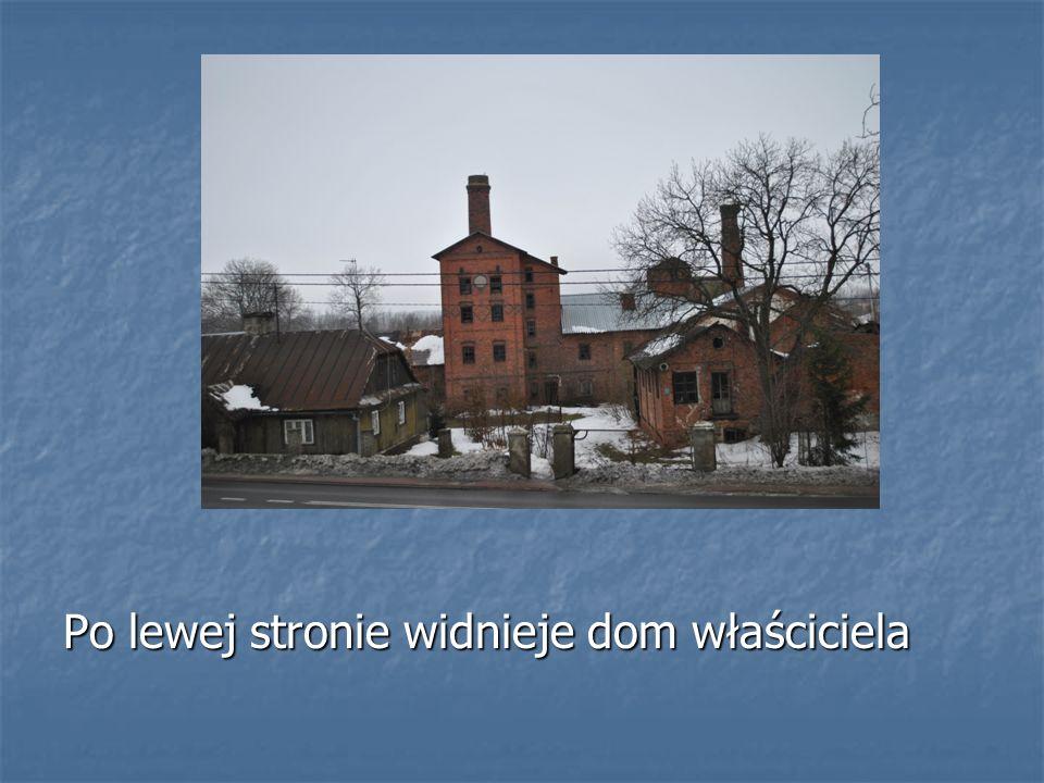 Po lewej stronie widnieje dom właściciela