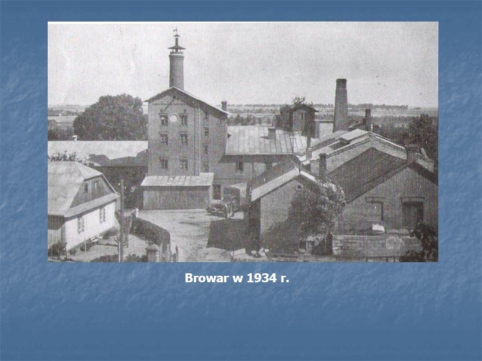 Browar w 1934 r.