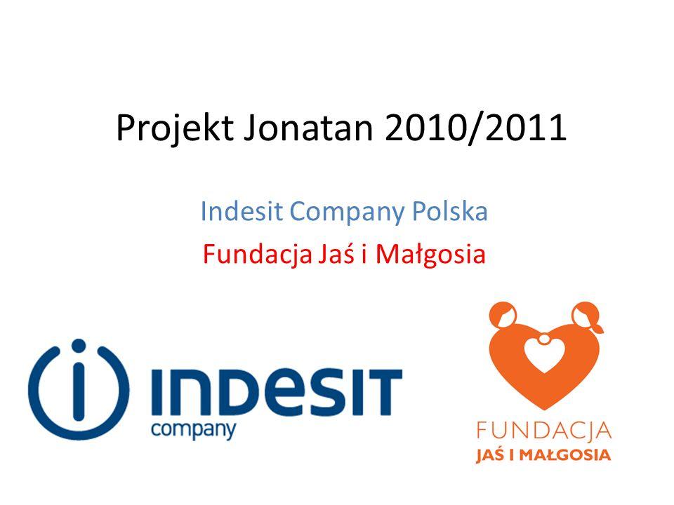 Projekt Jonatan 2010/2011 Indesit Company Polska Fundacja Jaś i Małgosia