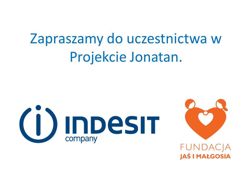 Zapraszamy do uczestnictwa w Projekcie Jonatan.