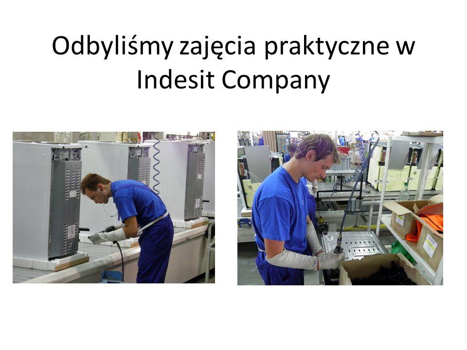 Odbyliśmy zajęcia praktyczne w Indesit Company