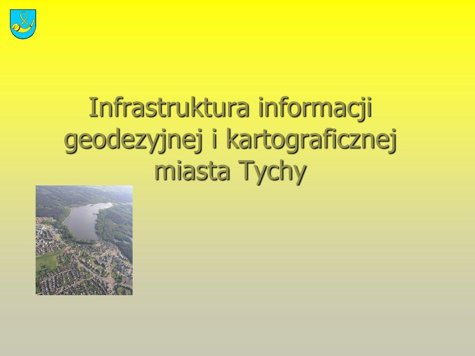 Infrastruktura informacji geodezyjnej i kartograficznej miasta Tychy