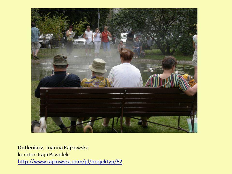 Dotleniacz, Joanna Rajkowska kurator: Kaja Pawełek http://www.rajkowska.com/pl/projektyp/62