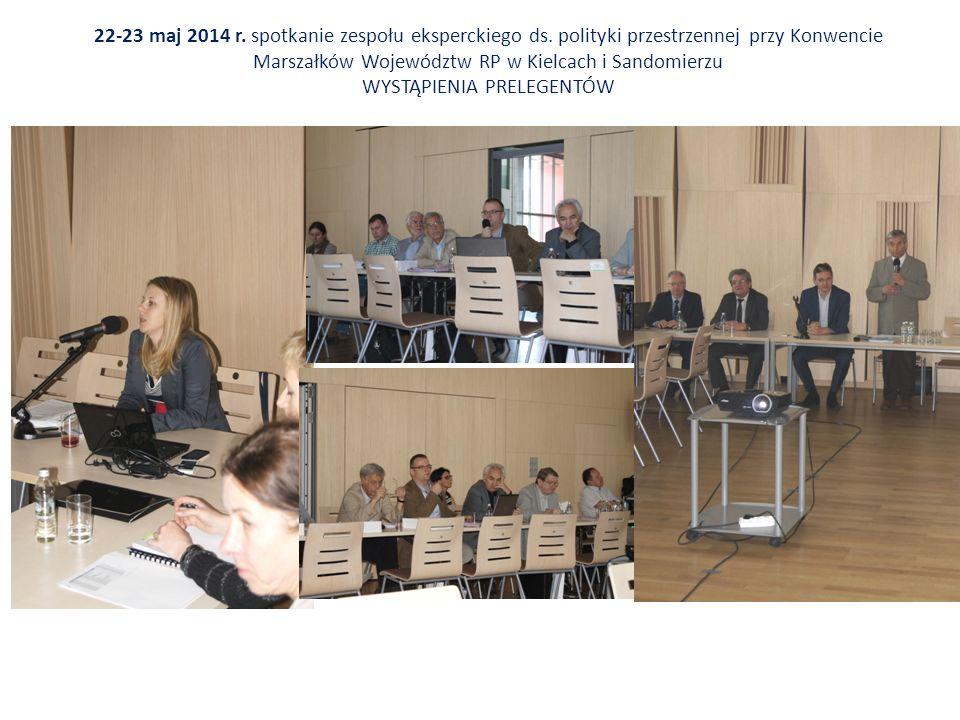 22-23 maj 2014 r. spotkanie zespołu eksperckiego ds.