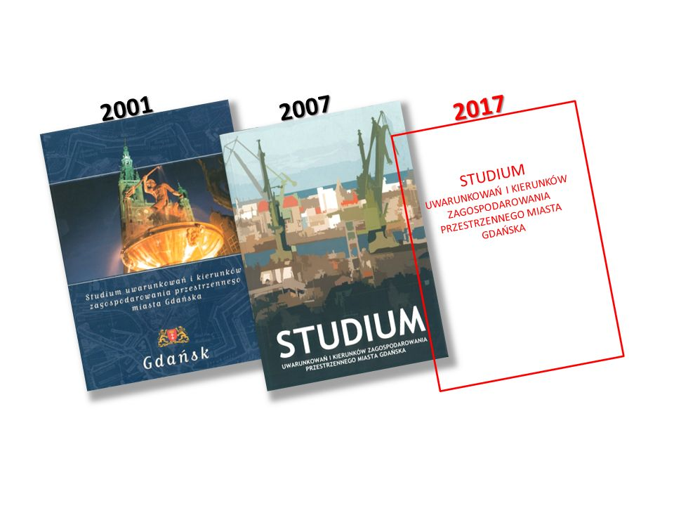 2001 2007 2017 STUDIUM UWARUNKOWAŃ I KIERUNKÓW ZAGOSPODAROWANIA PRZESTRZENNEGO MIASTA GDAŃSKA