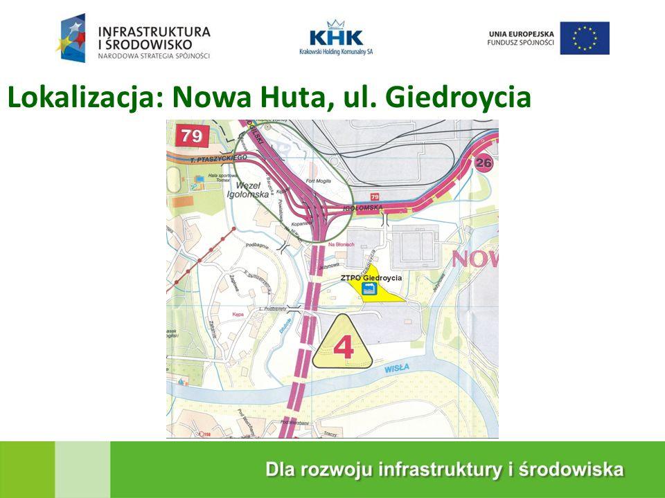 KRAKOWSKA EKOSPALARNIA Lokalizacja: Nowa Huta, ul. Giedroycia