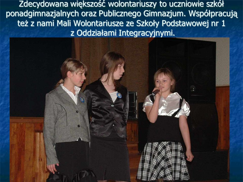 """Seminarium """"Wolontariat szansą na rozwój 11 grudzień 2003r."""