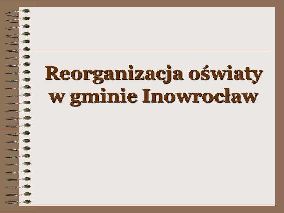 Reorganizacja oświaty w gminie Inowrocław