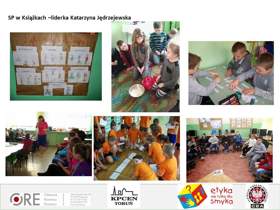 SP w Książkach –liderka Katarzyna Jędrzejewska