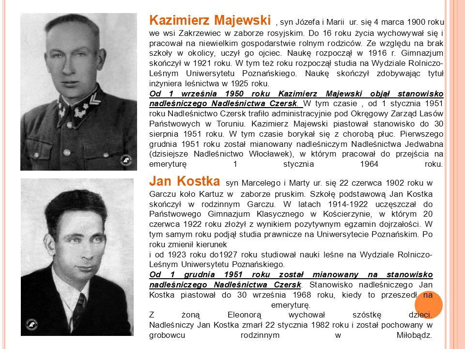 Kazimierz Majewski, syn Józefa i Marii ur.