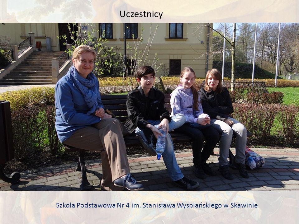 Uczestnicy Szkoła Podstawowa Nr 4 im. Stanisława Wyspiańskiego w Skawinie