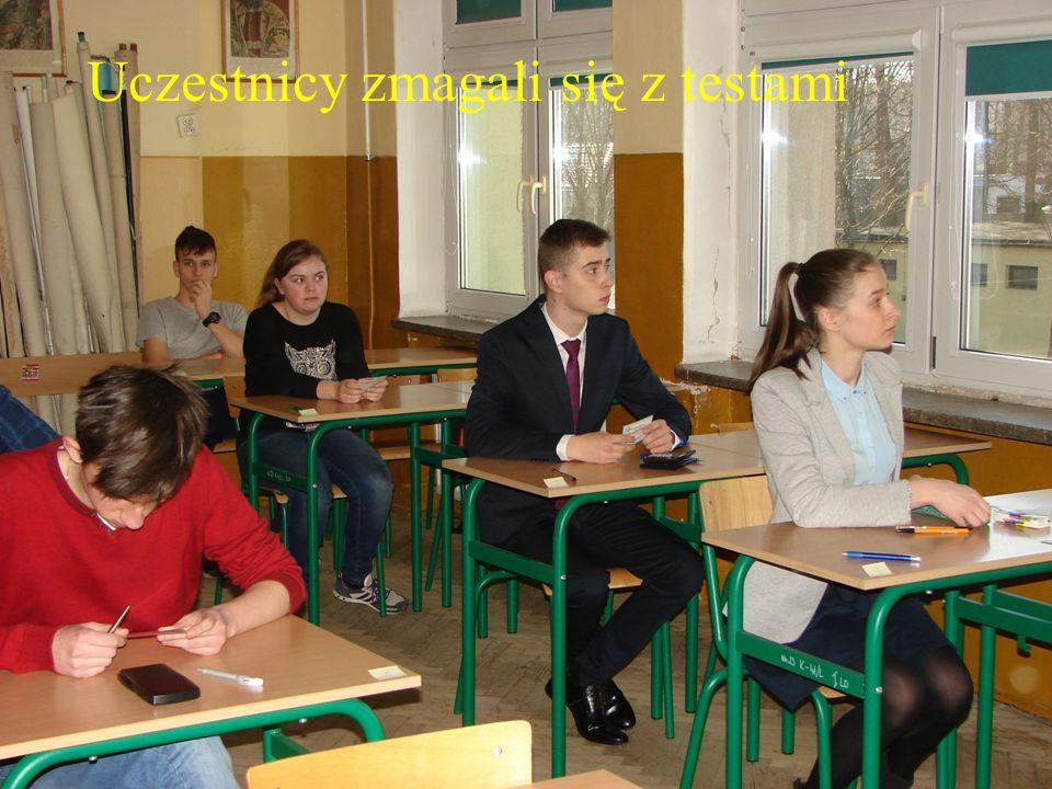 …. Uczestnicy zmagali się z testami