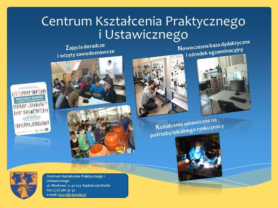 Centrum Kształcenia Praktycznego i Ustawicznego Centrum Kształcenia Praktycznego i Ustawicznego ul.