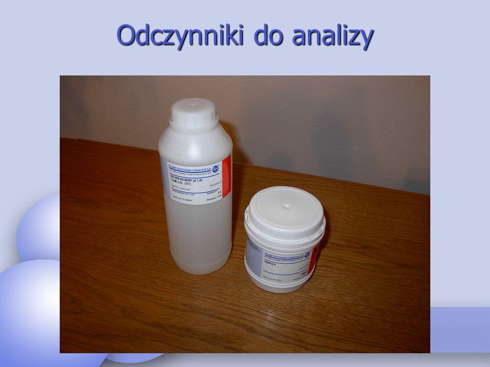 Odczynniki do analizy