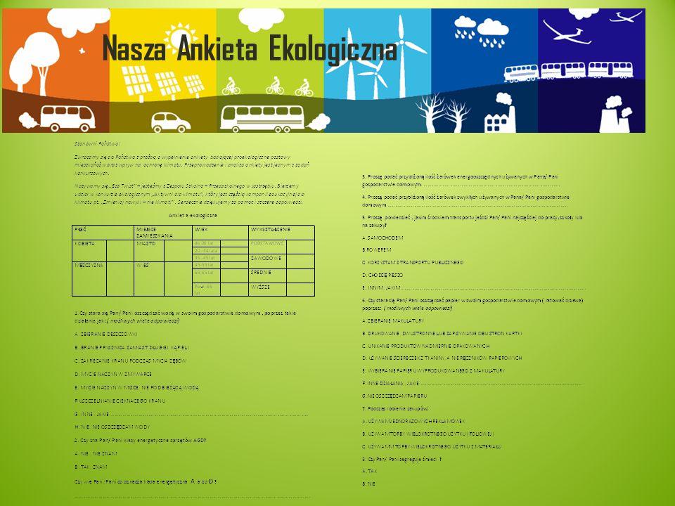 Nasza Ankieta Ekologiczna