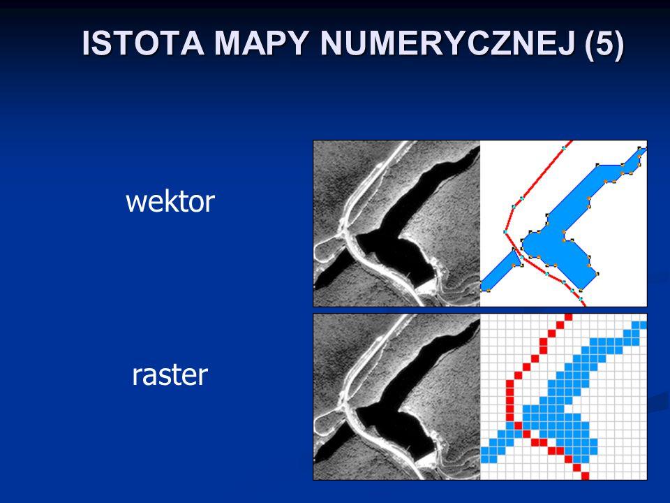 ISTOTA MAPY NUMERYCZNEJ (5) wektor raster