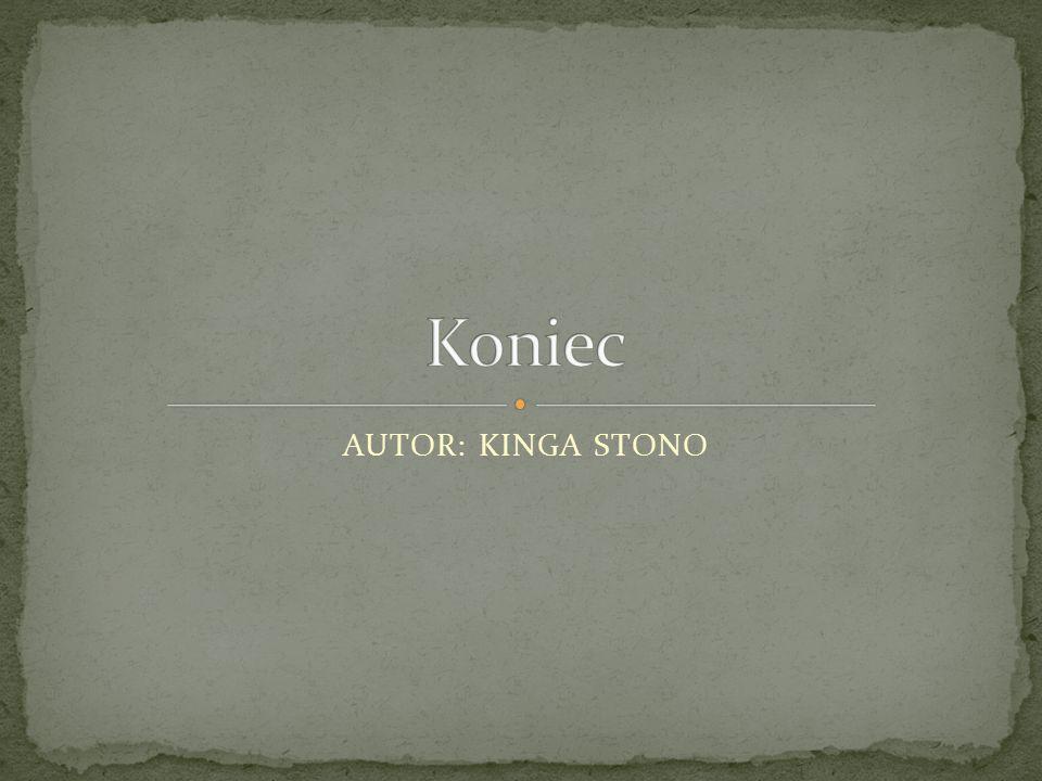 AUTOR: KINGA STONO