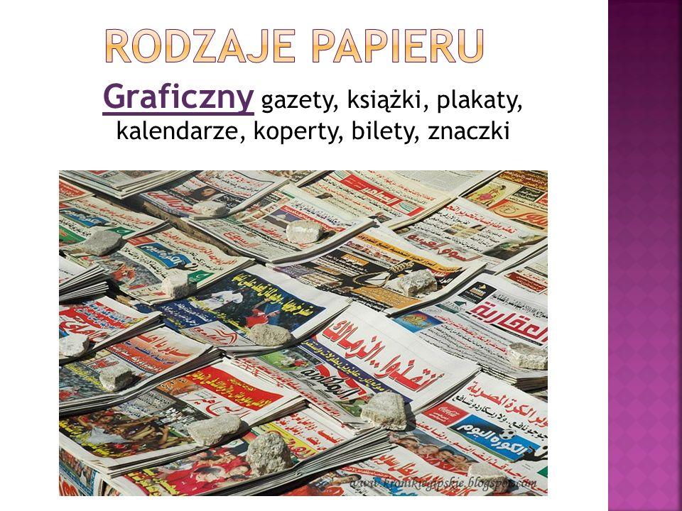Graficzny gazety, książki, plakaty, kalendarze, koperty, bilety, znaczki