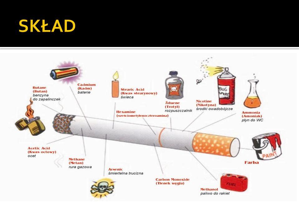 ETAP I Nikotyna dociera do mózgu w kilka sekund po zaciągnięciu się dymem tytoniowym.
