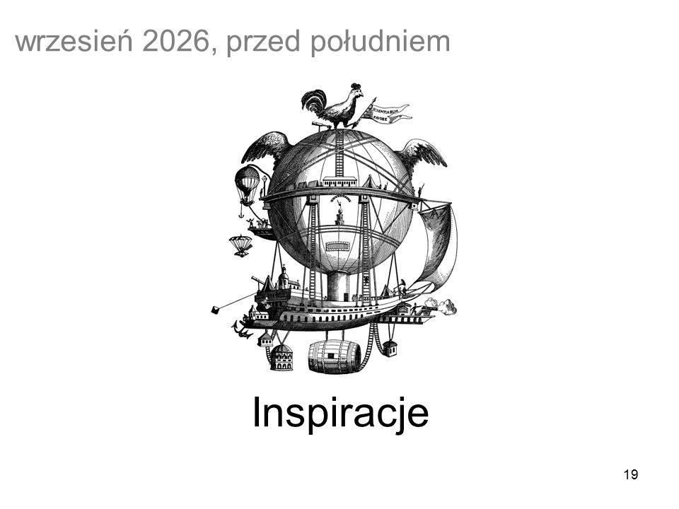 19 Inspiracje wrzesień 2026, przed południem