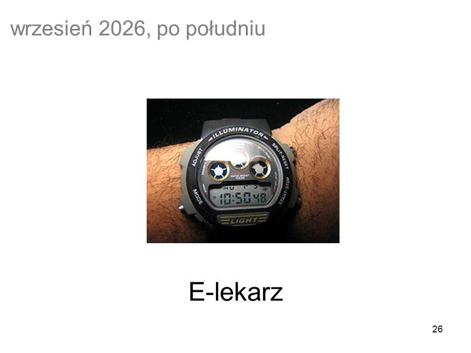 26 E-lekarz wrzesień 2026, po południu