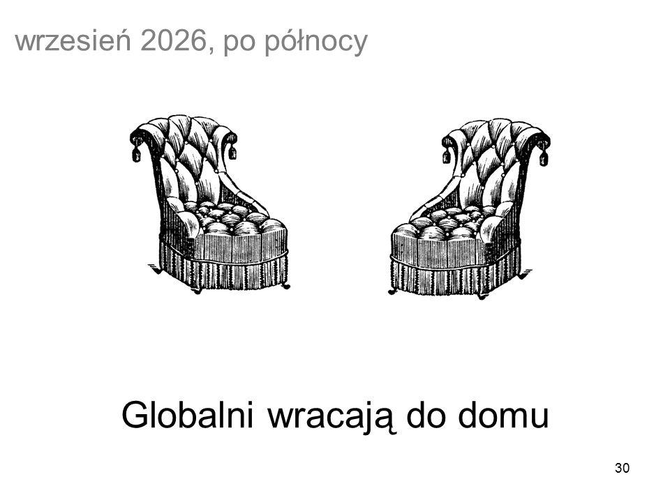 30 Globalni wracają do domu wrzesień 2026, po północy