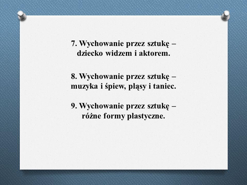 3.Wspomaganie rozwoju mowy dzieci. 4.