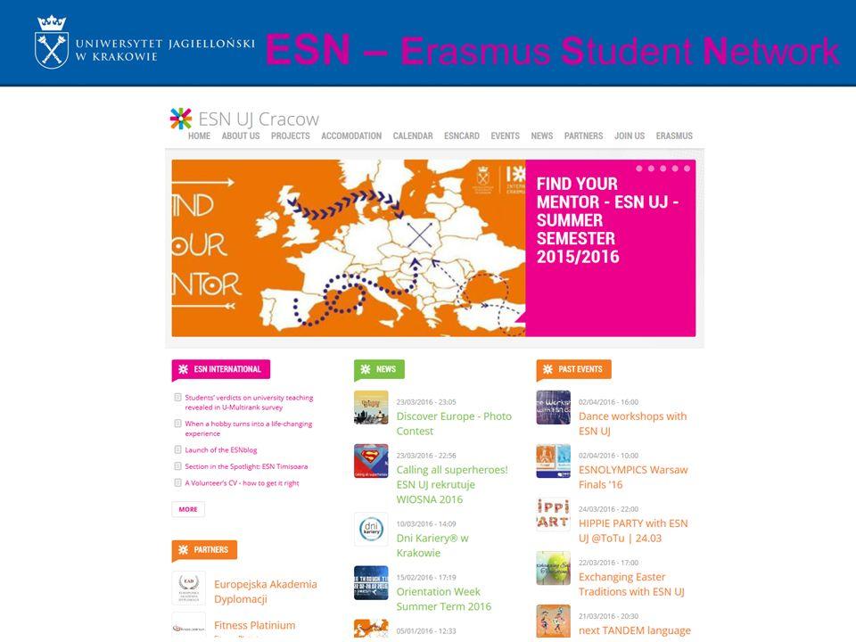 ESN – Erasmus Student Network
