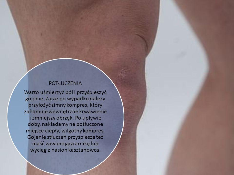 OTARCIA I ODPARZENIA Bąble, które powstają wskutek odparzenia, trzeba zabezpieczyć plastrem z opatrunkiem, aby nie zerwać skóry. Pęcherze na stopach c