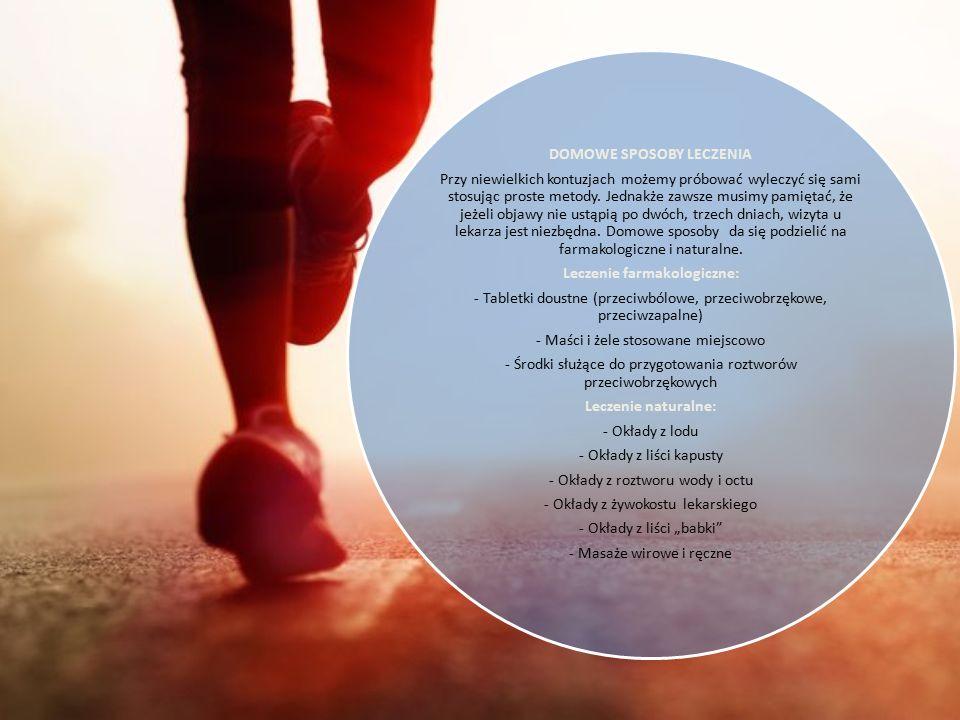 ZAPOBIOEGANIE KONTUZJOM Wyluzuj – nie przeciążaj mięśni, szczególnie przez długi okres czasu. Jeśli zaczniesz odczuwać ból w trakcie treningu – zatrzy
