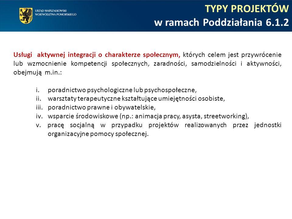 KRYTERIA WYBORU PROJEKTÓW w ramach Poddziałania 6.1.2 KRYTERIA STRATEGICZNE I STOPNIA Specyficzne ukierunkowanie projektu C.1.