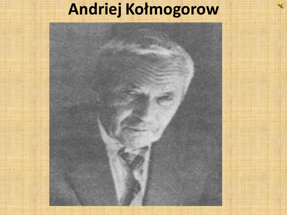 Andriej Kołmogorow
