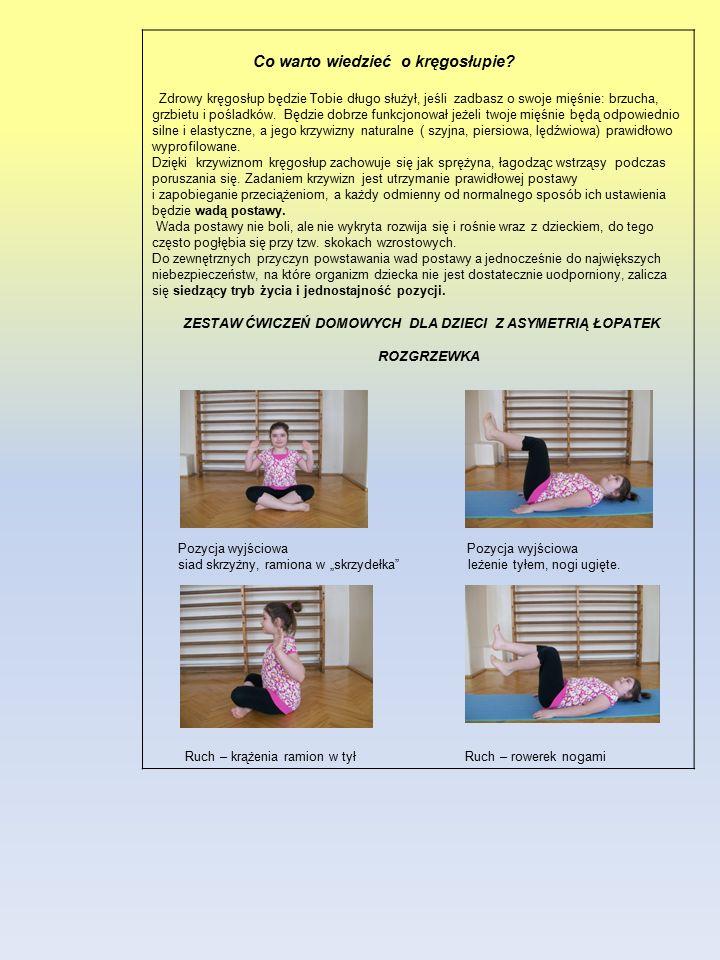 Co warto wiedzieć o kręgosłupie? Zdrowy kręgosłup będzie Tobie długo służył, jeśli zadbasz o swoje mięśnie: brzucha, grzbietu i pośladków. Będzie dobr