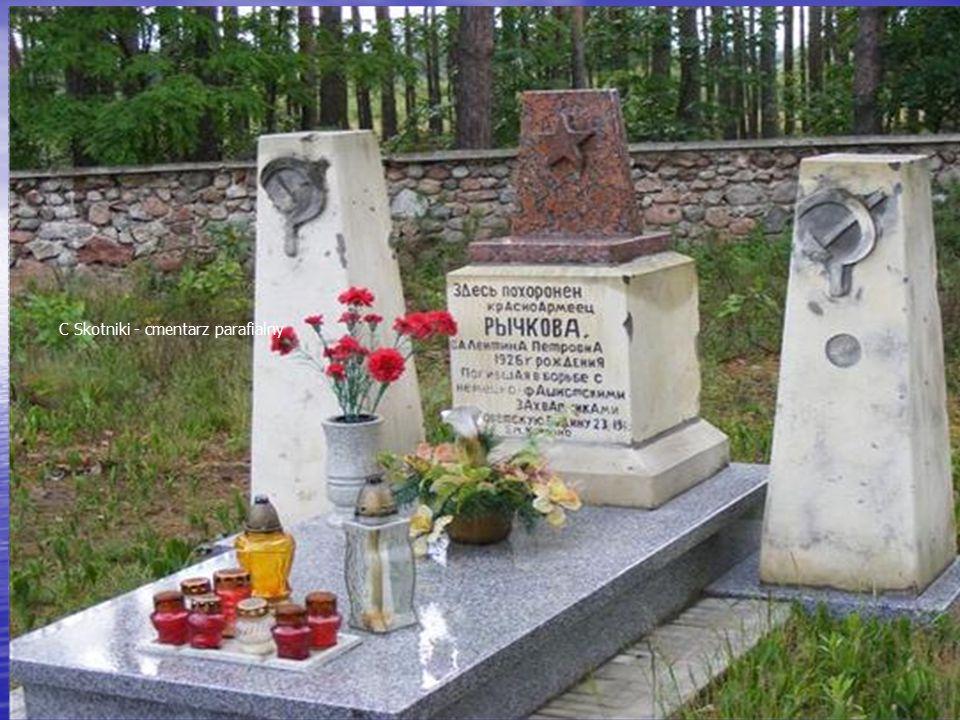C Skotniki - cmentarz parafialny